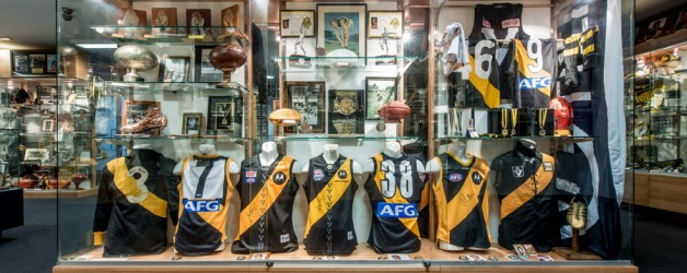 Richmond Tigers AFL Club Museum – Interior Photography