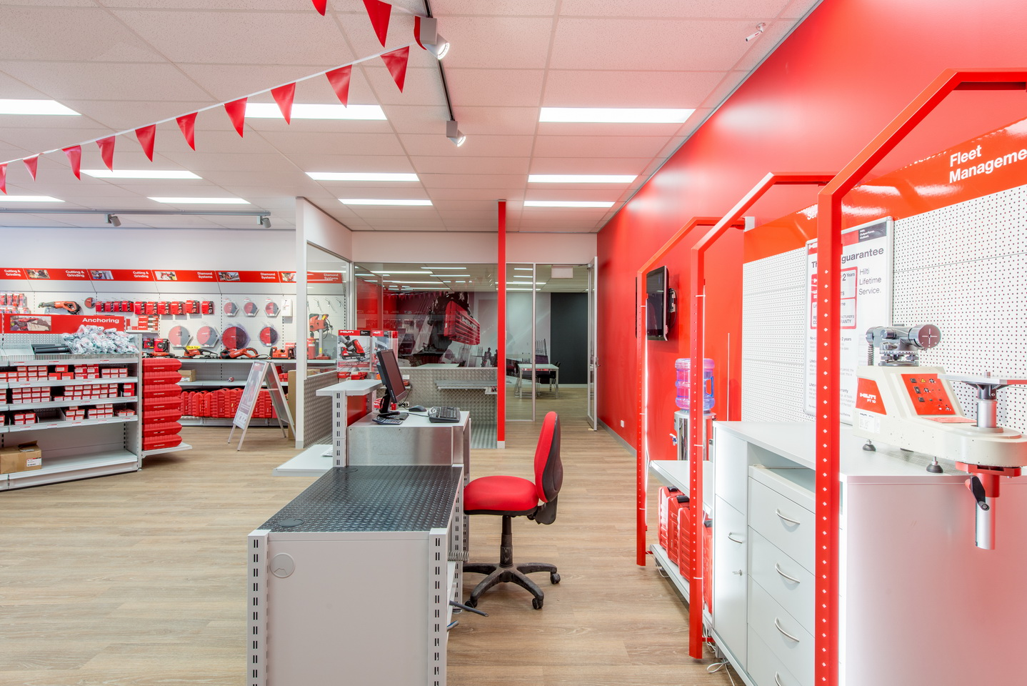 Hilti at south melbourne architectural photography for Office design events