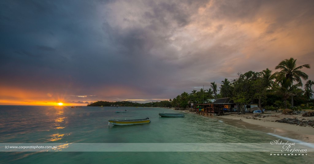 Mana Resort -  Jetty and Reception at Dusk-0002