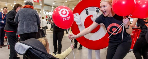 New Target Store opening @ Pacific Werribee shopping centre