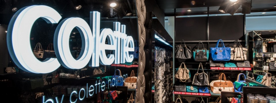 Colette store / Retail photography at The Glen